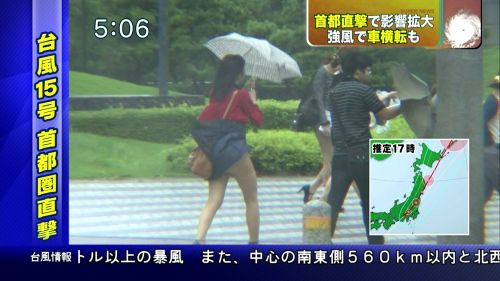 【画像】TV中継でJK達のずぶ濡れなスケブラやパンチラが映った件 37枚 No.21