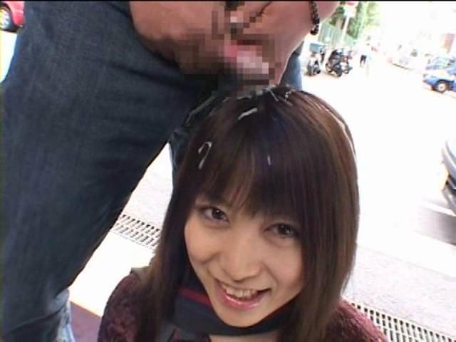 髪は女の命☆清楚なオネエさんの髪にぶっかけざーめんなえろ写真 32枚