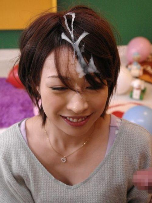 髪は女の命!綺麗なお姉さんの髪にぶっかけザーメンなエロ画像 32枚 No.18