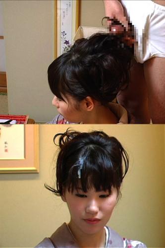 髪は女の命!綺麗なお姉さんの髪にぶっかけザーメンなエロ画像 32枚 No.25