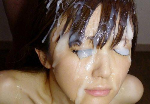 髪は女の命!綺麗なお姉さんの髪にぶっかけザーメンなエロ画像 32枚 No.26