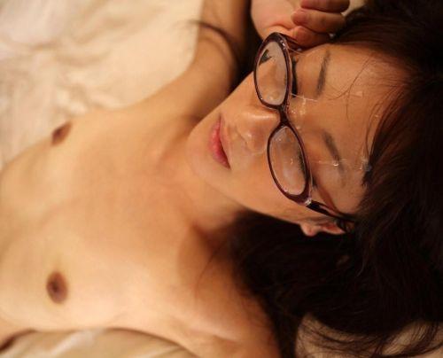 【画像】知的で綺麗なお姉さんの眼鏡にぶっかける達成感は異常www 32枚 No.3