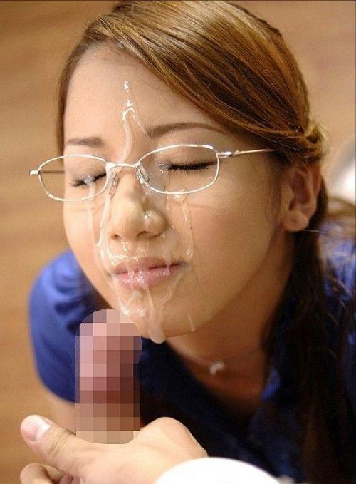 【画像】知的で綺麗なお姉さんの眼鏡にぶっかける達成感は異常www 32枚 No.20