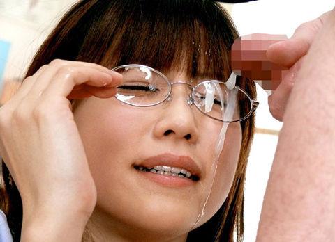 【画像】知的で綺麗なお姉さんの眼鏡にぶっかける達成感は異常www 32枚 No.23