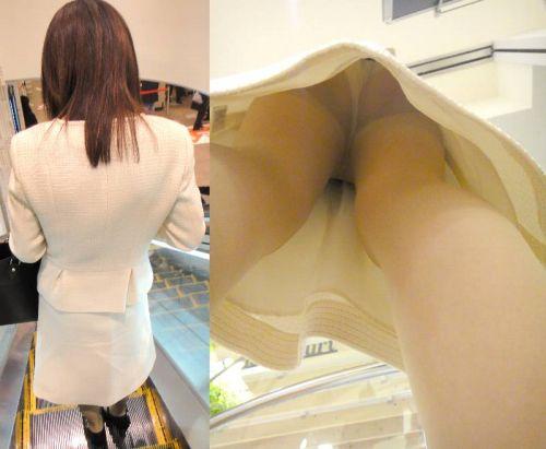 職場で働いてる最中の女性をローアングルから逆さ撮りしたエロ画像 34枚 No.33