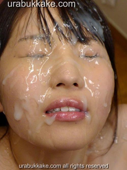 童顔で可愛い女の子の顔を精液ぶっかけて汚しちゃうエロ画像 36枚 No.7