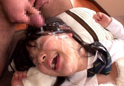 童顔で可愛い女の子の顔を精液ぶっかけて汚しちゃうエロ画像 36枚 No.22