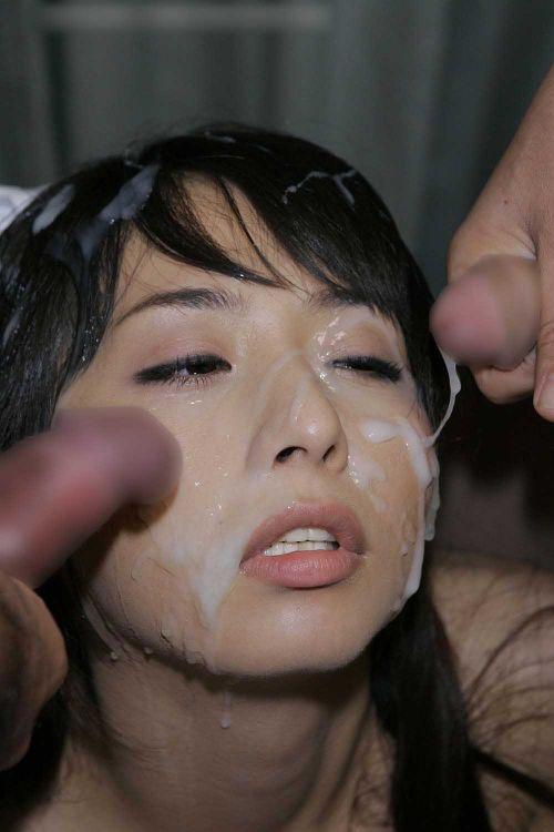 童顔で可愛い女の子の顔を精液ぶっかけて汚しちゃうエロ画像 36枚 No.29