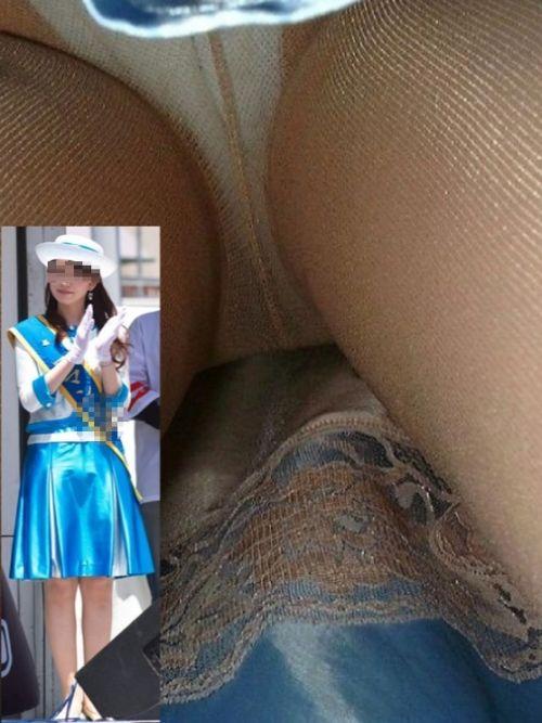 旅行で恋心を抱くバスガイドのお姉さんの逆さ撮りパンチラ盗撮 31枚 No.12