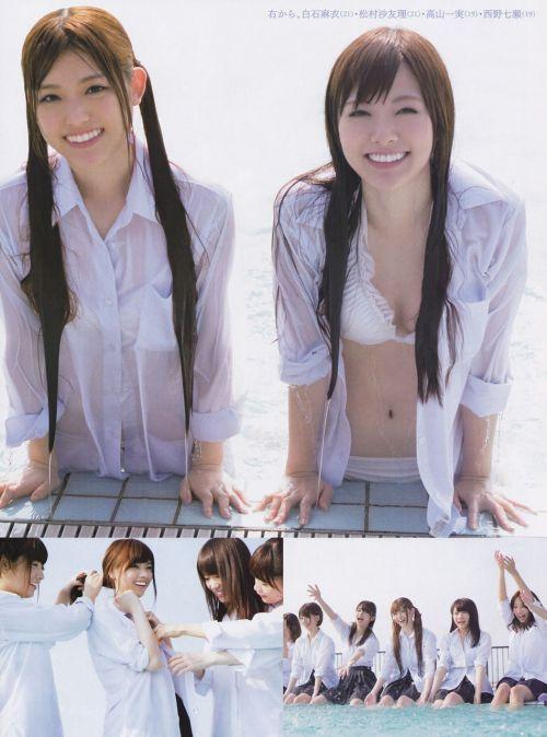 【画像】AKB48メンバーのお宝ハプニング胸チラ全力で集めたったwww 37枚 No.18