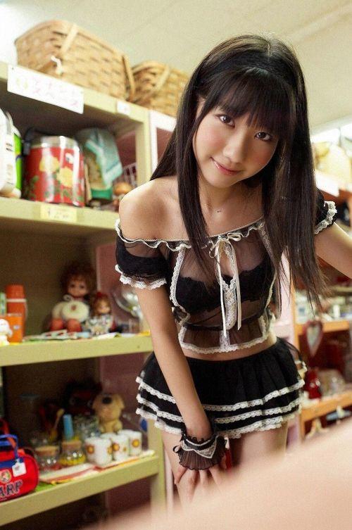 【画像】AKB48メンバーのお宝ハプニング胸チラ全力で集めたったwww 37枚 No.27