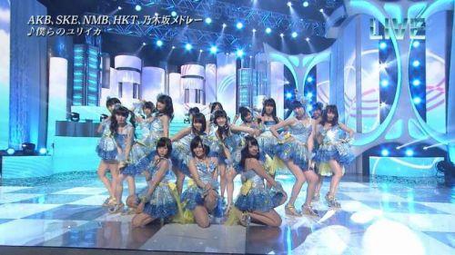 AKB48グループメンバーのTVパンチラ総選挙!お宝ハプニングエロ画像 41枚 No.4