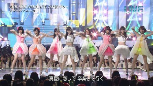 AKB48グループメンバーのTVパンチラ総選挙!お宝ハプニングエロ画像 41枚 No.7