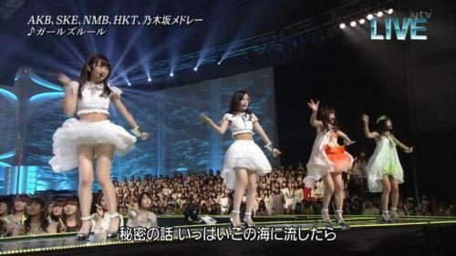 AKB48グループメンバーのTVパンチラ総選挙!お宝ハプニングエロ画像 41枚 No.9