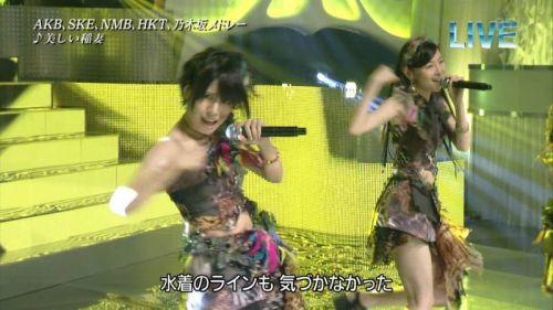 AKB48グループメンバーのTVパンチラ総選挙!お宝ハプニングエロ画像 41枚 No.10
