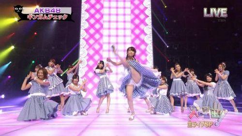 AKB48グループメンバーのTVパンチラ総選挙!お宝ハプニングエロ画像 41枚 No.11