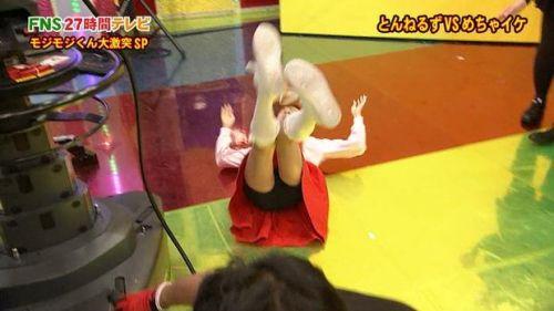 AKB48グループメンバーのTVパンチラ総選挙!お宝ハプニングエロ画像 41枚 No.12