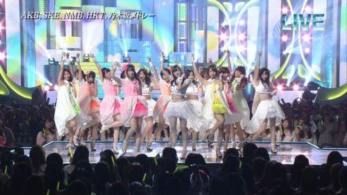 AKB48グループメンバーのTVパンチラ総選挙!お宝ハプニングエロ画像 41枚 No.13