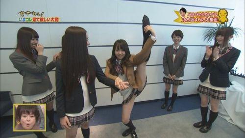 AKB48グループメンバーのTVパンチラ総選挙!お宝ハプニングエロ画像 41枚 No.16