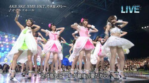 AKB48グループメンバーのTVパンチラ総選挙!お宝ハプニングエロ画像 41枚 No.23
