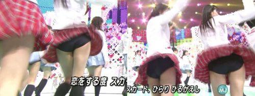 AKB48グループメンバーのTVパンチラ総選挙!お宝ハプニングエロ画像 41枚 No.28