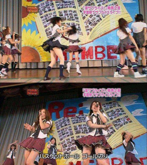 AKB48グループメンバーのTVパンチラ総選挙!お宝ハプニングエロ画像 41枚 No.31