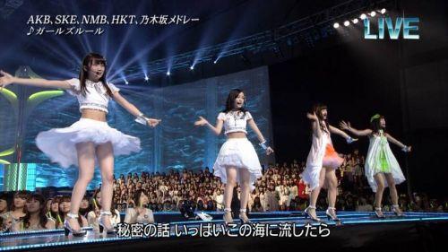 AKB48グループメンバーのTVパンチラ総選挙!お宝ハプニングエロ画像 41枚 No.33