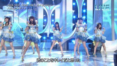 AKB48グループメンバーのTVパンチラ総選挙!お宝ハプニングエロ画像 41枚 No.36