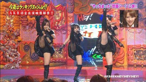 AKB48グループメンバーのTVパンチラ総選挙!お宝ハプニングエロ画像 41枚 No.37