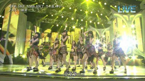 AKB48グループメンバーのTVパンチラ総選挙!お宝ハプニングエロ画像 41枚 No.39