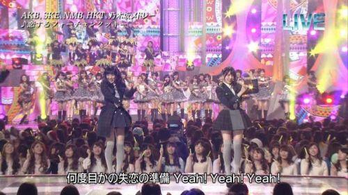 AKB48グループメンバーのTVパンチラ総選挙!お宝ハプニングエロ画像 41枚 No.41