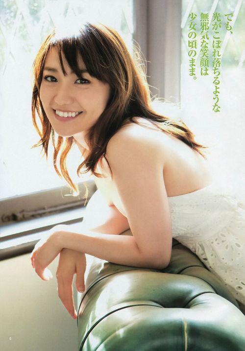 大島優子のおひさまのような笑顔と胸チラと太もものエロ画像 177枚 No.12