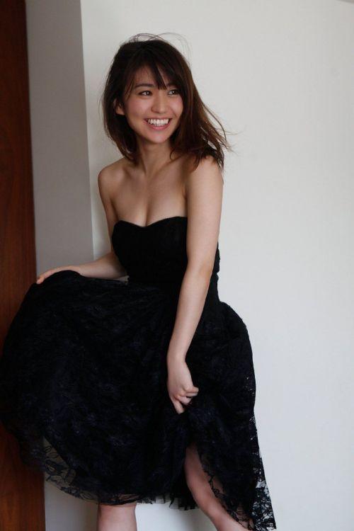 大島優子のおひさまのような笑顔と胸チラと太もものエロ画像 177枚 No.89