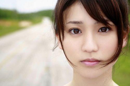 大島優子のおひさまのような笑顔と胸チラと太もものエロ画像 177枚 No.92