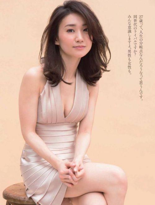 大島優子のおひさまのような笑顔と胸チラと太もものエロ画像 177枚 No.165