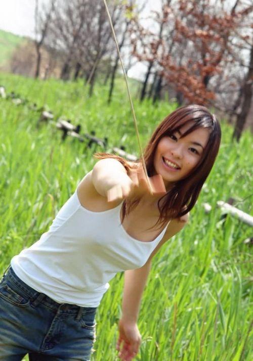 可愛い女の子がノーブラで乳首ポッチで透け透けなエロ画像 34枚 No.32