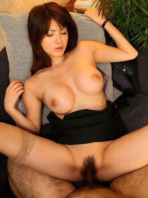 エロい黒ストッキングの美女が正常位セックスでイっちゃうエロ画像 31枚 No.14