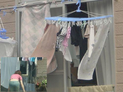 下着フェチの楽園!パンティやブラジャーの洗濯物盗撮エロ画像 34枚 No.29