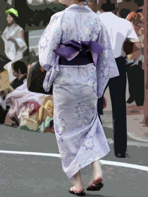 パンツ大漁!浴衣から透けちゃうパンチラ盗撮エロ画像 42枚 No.24