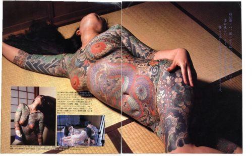 ヤクザ組長の姐さんの全身タトゥー!気合の入った極道の女を御覧ください!!! 35枚 No.23