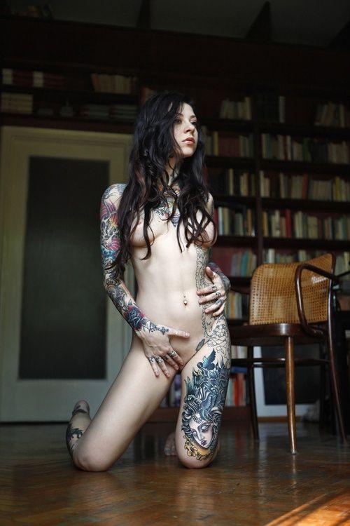 外国人美女たちの鮮やかなタトゥーが色っぽくてエロ過ぎるwww 36枚 No.26