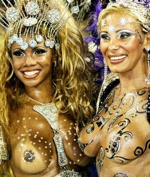 外国人がサンバカーニバルで過激におっぱいを露出しちゃうエロ画像 33枚 No.10