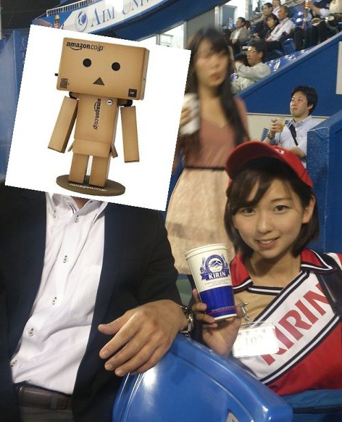【即バボ】プロ野球場のビール売り子の笑顔が可愛いすぎwww 38枚 No.10