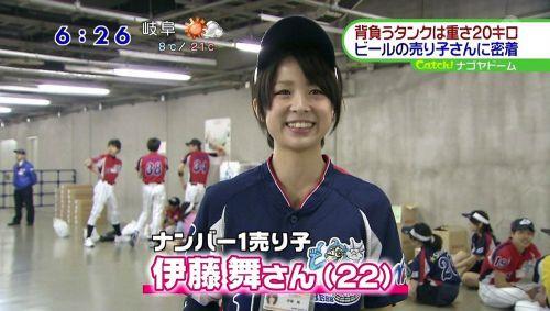 【即バボ】プロ野球場のビール売り子の笑顔が可愛いすぎwww 38枚 No.33