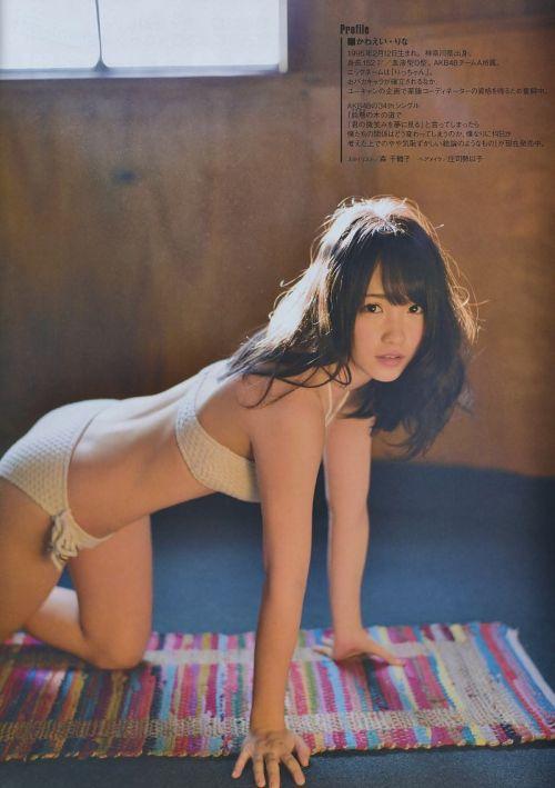 【元AKB48】川栄李奈 女優として活躍中のおっぱい水着なエロ画像 95枚 No.31