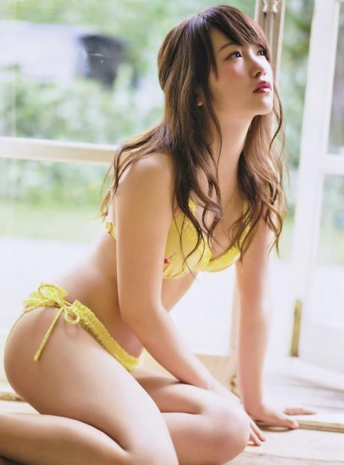 【元AKB48】川栄李奈 女優として活躍中のおっぱい水着なエロ画像 95枚 No.81
