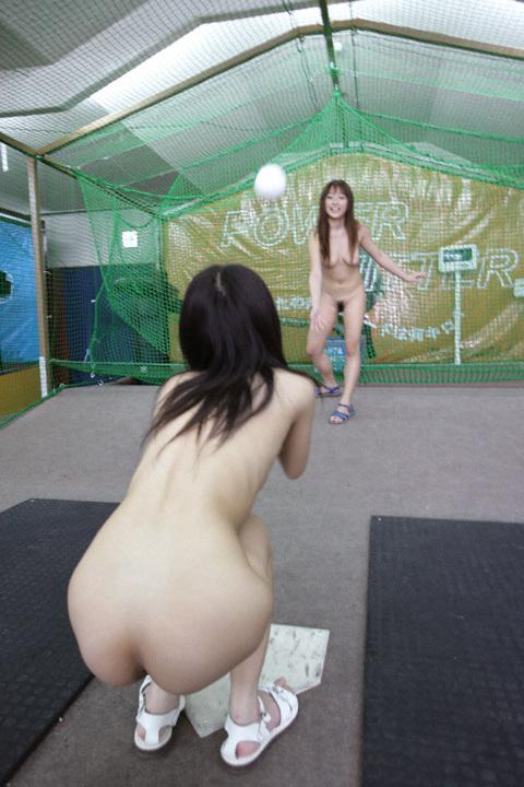 【全裸スポーツ】おっぱいマンコ丸出しでスポーツする女子アスリートwww 36枚 No.7