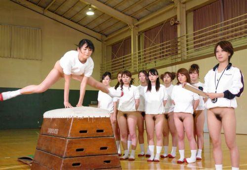 【全裸スポーツ】おっぱいマンコ丸出しでスポーツする女子アスリートwww 36枚 No.13