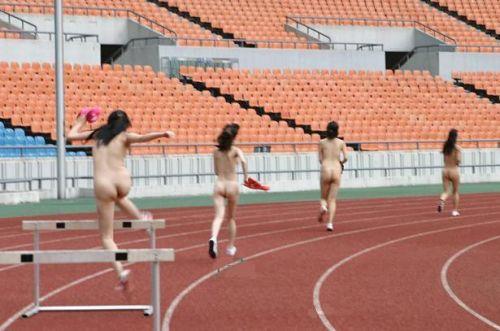 【全裸スポーツ】おっぱいマンコ丸出しでスポーツする女子アスリートwww 36枚 No.22