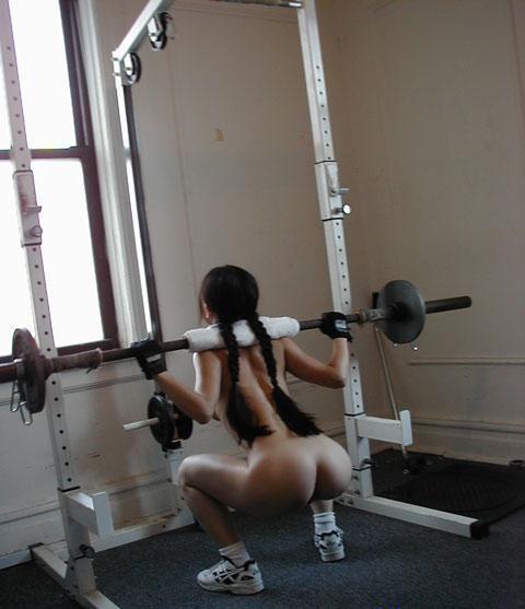 【全裸スポーツ】おっぱいマンコ丸出しでスポーツする女子アスリートwww 36枚 No.32